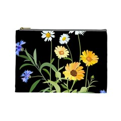 Flowers Of The Field Cosmetic Bag (large)