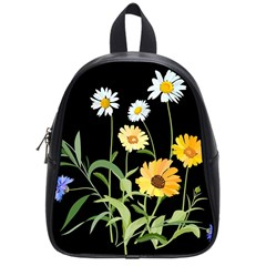 Flowers Of The Field School Bags (Small)
