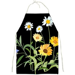 Flowers Of The Field Full Print Aprons