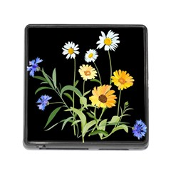 Flowers Of The Field Memory Card Reader (square)