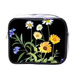 Flowers Of The Field Mini Toiletries Bags
