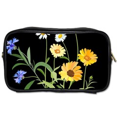 Flowers Of The Field Toiletries Bags