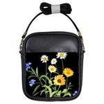 Flowers Of The Field Girls Sling Bags Front
