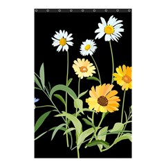 Flowers Of The Field Shower Curtain 48  x 72  (Small)