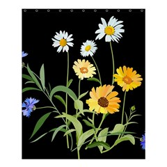 Flowers Of The Field Shower Curtain 60  X 72  (medium)