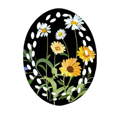 Flowers Of The Field Ornament (Oval Filigree)