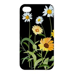 Flowers Of The Field Apple Iphone 4/4s Hardshell Case