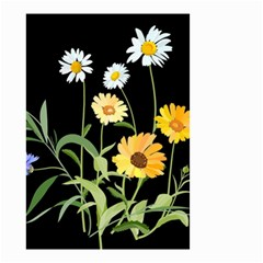 Flowers Of The Field Small Garden Flag (two Sides)