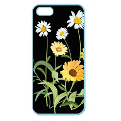 Flowers Of The Field Apple Seamless iPhone 5 Case (Color)