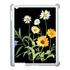 Flowers Of The Field Apple iPad 3/4 Case (White)
