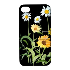 Flowers Of The Field Apple iPhone 4/4S Hardshell Case with Stand