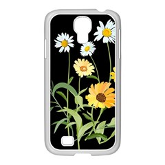 Flowers Of The Field Samsung GALAXY S4 I9500/ I9505 Case (White)