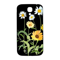 Flowers Of The Field Samsung Galaxy S4 I9500/i9505  Hardshell Back Case
