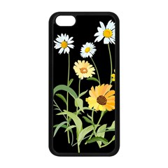 Flowers Of The Field Apple Iphone 5c Seamless Case (black)