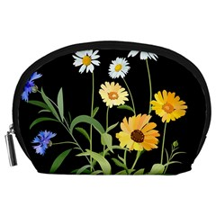 Flowers Of The Field Accessory Pouches (large)