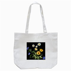 Flowers Of The Field Tote Bag (White)