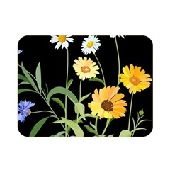 Flowers Of The Field Double Sided Flano Blanket (mini)