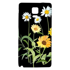 Flowers Of The Field Galaxy Note 4 Back Case