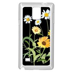 Flowers Of The Field Samsung Galaxy Note 4 Case (white)