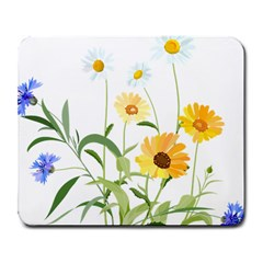 Flowers Flower Of The Field Large Mousepads