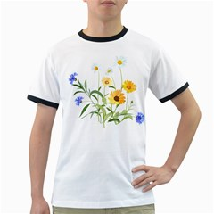 Flowers Flower Of The Field Ringer T-Shirts