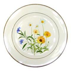 Flowers Flower Of The Field Porcelain Plates