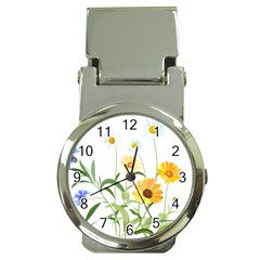 Flowers Flower Of The Field Money Clip Watches