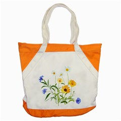 Flowers Flower Of The Field Accent Tote Bag