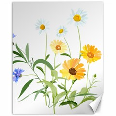 Flowers Flower Of The Field Canvas 16  X 20