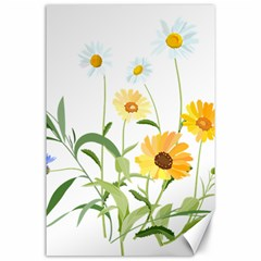 Flowers Flower Of The Field Canvas 24  x 36