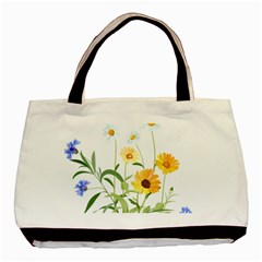 Flowers Flower Of The Field Basic Tote Bag (Two Sides)