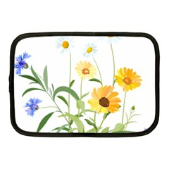 Flowers Flower Of The Field Netbook Case (medium)