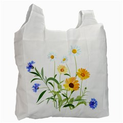 Flowers Flower Of The Field Recycle Bag (One Side)