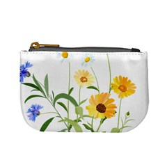 Flowers Flower Of The Field Mini Coin Purses