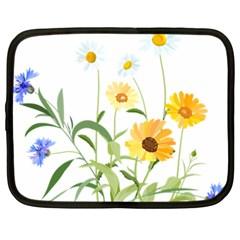 Flowers Flower Of The Field Netbook Case (xxl)