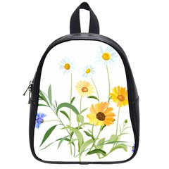 Flowers Flower Of The Field School Bags (small)