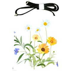 Flowers Flower Of The Field Shoulder Sling Bags