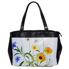 Flowers Flower Of The Field Office Handbags