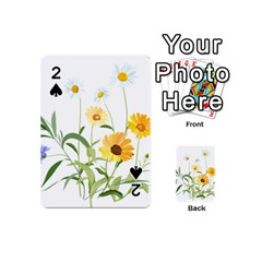 Flowers Flower Of The Field Playing Cards 54 (Mini)