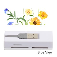 Flowers Flower Of The Field Memory Card Reader (stick)