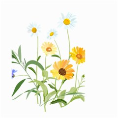 Flowers Flower Of The Field Small Garden Flag (Two Sides)