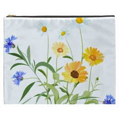 Flowers Flower Of The Field Cosmetic Bag (xxxl)