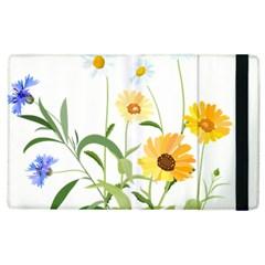 Flowers Flower Of The Field Apple Ipad 3/4 Flip Case