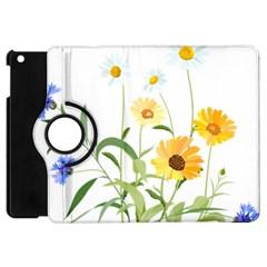 Flowers Flower Of The Field Apple iPad Mini Flip 360 Case