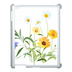 Flowers Flower Of The Field Apple Ipad 3/4 Case (white)