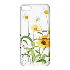 Flowers Flower Of The Field Apple Ipod Touch 5 Hardshell Case With Stand