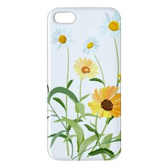 Flowers Flower Of The Field Apple iPhone 5 Premium Hardshell Case