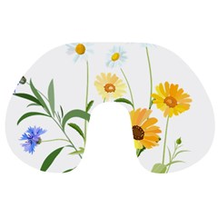 Flowers Flower Of The Field Travel Neck Pillows