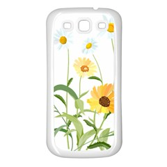Flowers Flower Of The Field Samsung Galaxy S3 Back Case (White)