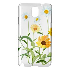 Flowers Flower Of The Field Samsung Galaxy Note 3 N9005 Hardshell Case